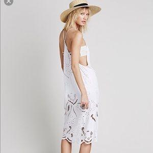 Free People White Sri Dress